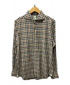 ()の古着「チェックシャツ」|グリーン