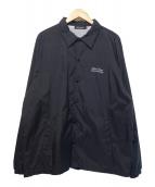 UNDERCOVER(アンダーカバー)の古着「バックUロゴコーチジャケット」|ブラック
