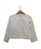 ANAYI(アナイ)の古着「カットワークジャケット」|ホワイト
