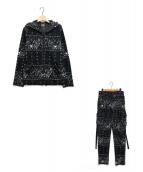 Roen(ロエン)の古着「セットアップパーカー」 ブラック