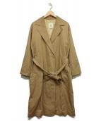 1er Arrondissement(プルミエ アロンディスモン)の古着「スーピマコットントレンチコート」|ベージュ