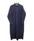 TICCA(ティッカ)の古着「ヒヨクシャツワンピース」|ネイビー