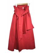 ELIN(エリン)の古着「ラップスカート」|ピンク