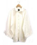 SOU・SOU(ソウソウ)の古着「リネン陣風靡シャツ」|オフホワイト