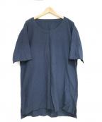 THE Sakaki(ザ サカキ)の古着「プルオーバーシャツ」|ネイビー
