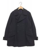 yohji yamamoto+Noir(ヨウジヤマモトプリュスノアール)の古着「ダブルブレストショートコート」|ブラック