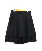 Ys(ワイズ)の古着「デザインスカート」|ブラック