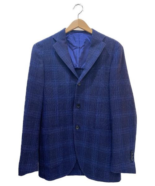 BEAMS F(ビームスエフ)BEAMS F (ビームスエフ) シャドウチェックジャケット ネイビー サイズ:44の古着・服飾アイテム