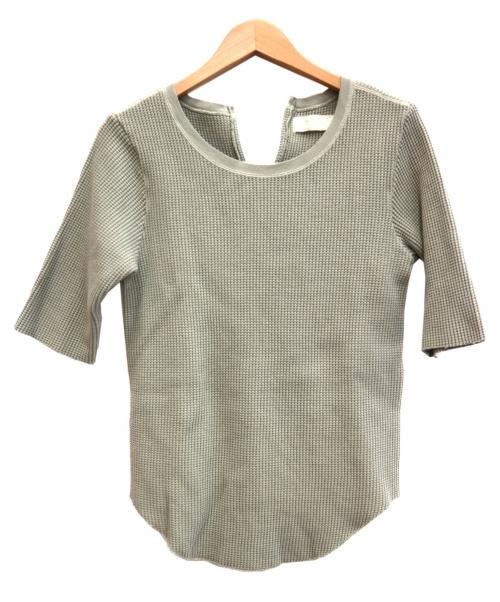 R JUBILEE(アールジュビリー)R JUBILEE (アール ジュビリー) コットンサーマルハーフスリーブTシャツ オリーブ サイズ:M RJ19039032の古着・服飾アイテム