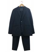 EN ROUTE(アンルート)の古着「ナイロンツイルセットアップ」|ネイビー
