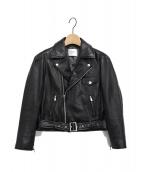 Ameri VINTAGE(アメリビンテージ)の古着「PUFF RIDERS JACKET」 ブラック