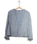 icB(アイシービ)の古着「クールヘザージャケット」|ブルー