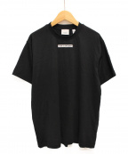 BURBERRY LONDON ENGLAND(バーバリー ロンドン イングランド)の古着「19AW ユニコーンプリントTシャツ」 ブラック