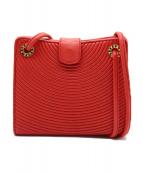 Tiffany & Co.(ティファニー)の古着「ミニショルダーバッグ」|レッド