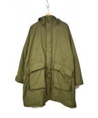 KAPTAIN SUNSHINE(キャプテンサンシャイン)の古着「パディングフィールドコート」|オリーブ