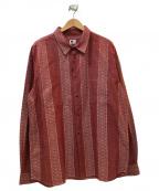 MASSES(マシス)の古着「ネイティブシャツ」|レッド
