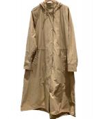 ()の古着「フードコート」|ベージュ