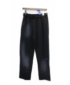 A-Cold-Wall*(ア コールドウォール)の古着「SNAP FRONT PANTS」|ブラック