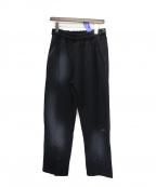 A-COLD-WALL*(ア コールドウォール)の古着「SNAP FRONT PANTS」 ブラック