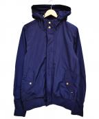 SCOTCH & SODA(スコッチアンドソーダ)の古着「フーデッドジャケット」|ネイビー