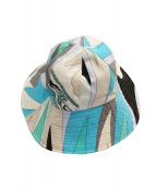 Emilio Pucci(エミリオプッチ)の古着「帽子」