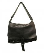 MIALUIS(ミアルイス)の古着「レザーショルダーバッグ」|ブラック