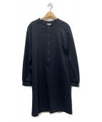 scye(サイ)の古着「ウールワンピース」 ブラック
