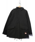 Vincent et Mireille(ヴァンソンエミレイユ)の古着「M-47パーカーブルゾン ジャケット」|ブラック