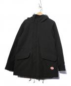 VINCENT ET MIREILLE(ヴァンソンエミレイユ)の古着「M-47パーカーブルゾン ジャケット」 ブラック