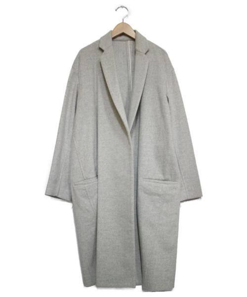 SEA(シー)SEA (シー) カシミヤチェスターコート ライトグレー サイズ:Fの古着・服飾アイテム