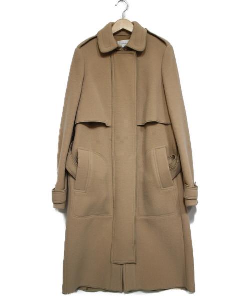 CARVEN(カルヴェン)CARVEN (カルヴェン) ベルテッドコート ベージュ サイズ:36の古着・服飾アイテム