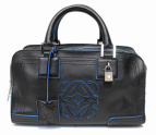 LOEWE(ロエベ)の古着「ハンドバッグ」|ブラック×ブルー