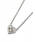 Tiffany & Co.(ティファニー)の古着「センチメンタルハート3Pダイヤネックレス」