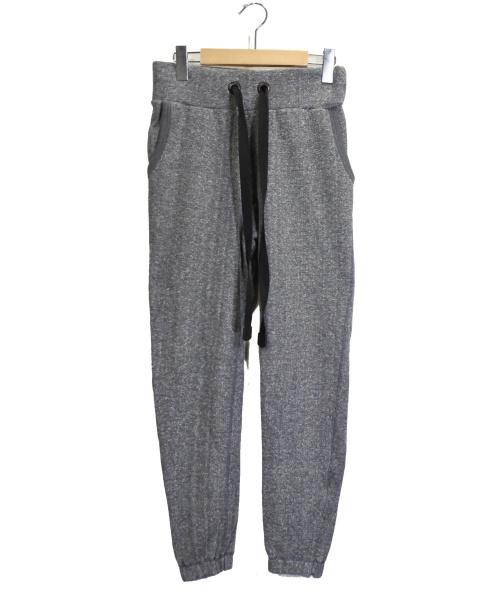 ripvanwinkle(リップヴァンウィンクル)ripvanwinkle (リップヴァンウィンクル) スウェットパンツ グレー サイズ:3の古着・服飾アイテム