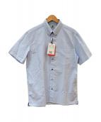 PS Paul Smith(ピーエスポールスミス)の古着「半袖シャツ」|スカイブルー