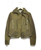 CELINE(セリーヌ)の古着「ミリタリージャケット」|カーキ