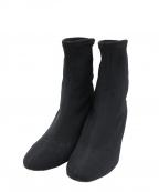 PELLICO SUNNY(ペリーコサニー)の古着「ストレッチショートブーツ」|ブラック