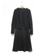 ANAYI(アナイ)の古着「セットアップスーツ」|ブラック