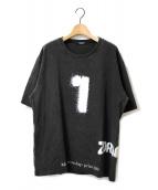 UNDERCOVER(アンダーカバー)の古着「製品染TEE ZORUGE」|チャコールグレー