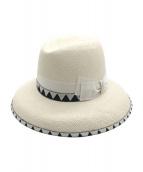 BORSALINO(ボルサリーノ)の古着「Claudetteパナマハット」|ホワイト