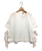 N°21 NUMERO VENTUNO(ヌメロヴェントゥーノ)の古着「サイドリボンブラウス」|ホワイト
