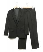 LITHIUM HOMME(リチウム オム)の古着「3ピーススーツ」|ブラック