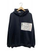 N.HOOLYWOOD(エヌハリウッド)の古着「プルオーバーパーカー」|ブラック