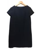 SOFIE DHOORE(ソフィードール)の古着「ワンピース」|ブラック