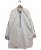 JUN MIKAMI(ジュン ミカミ)の古着「シャツワンピース」 ホワイト