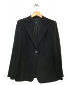 GIORGIO ARMANI(ジョルジオアルマーニ)の古着「1Bジャケット」|ブラック