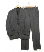 BURBERRY BLACK LABEL(バーバリーブラックレーベル)の古着「3ピーススーツ」|グレー