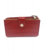 TAKEO KIKUCHI(タケオキクチ)の古着「財布」|レッド
