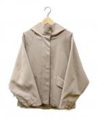 qualite(カリテ)の古着「フーデッドジャケット」|アイボリー
