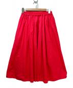 ANGLOBAL SHOP(アングローバルショップ)の古着「フレアスカート」|ピンク